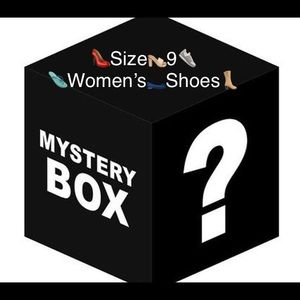 👟LAST ONE!👠👡Women's Size 9 Shoes Mystery Box